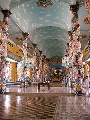 Tempel mit Heiligtum