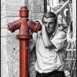watchman of the red hydrant