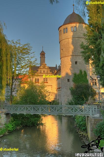 Marktbreit: Maintor und Rathaus