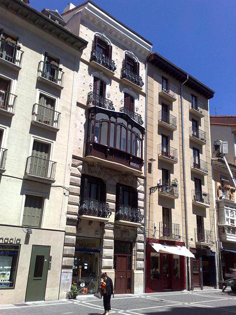 Pamplona: Plaza San Nicolás.