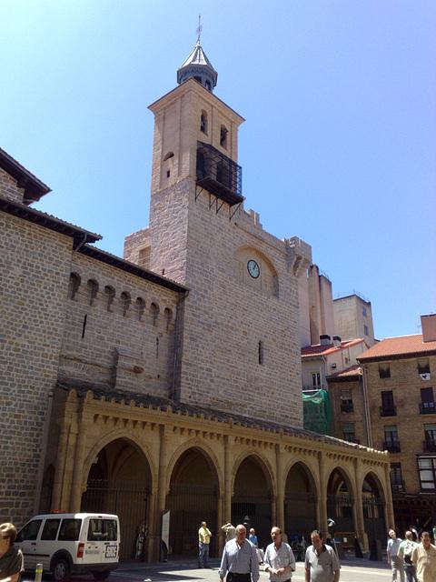 Pamplona: iglesia de San Nicolás.