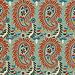 Textile Art, Paisley pattern