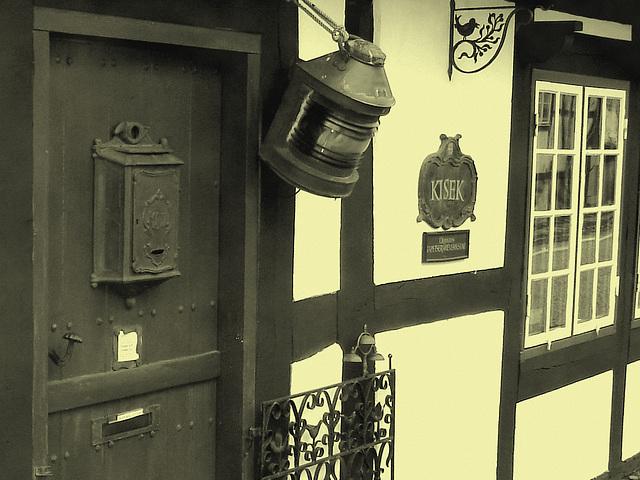 Maison Kisek -  Kisek house -  Båstad  / Suède - Sweden.  21-10-2008 -  Photo ancienne- Vintage.
