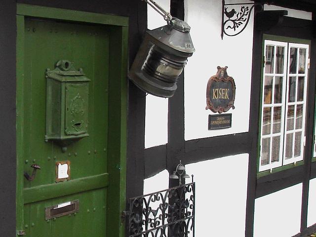 Maison Kisek -  Kisek house -  Båstad  / Suède - Sweden.  21-10-2008 -Zoom.