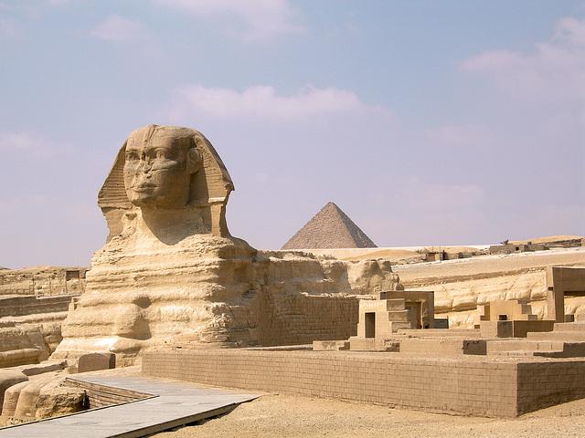 le Sphinx et la Pyramide de Khéphren