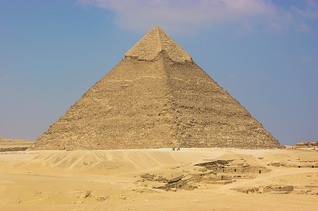Pyramide de Khéphren fils de Kheops