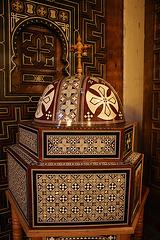 dans l'église Copte du Caire