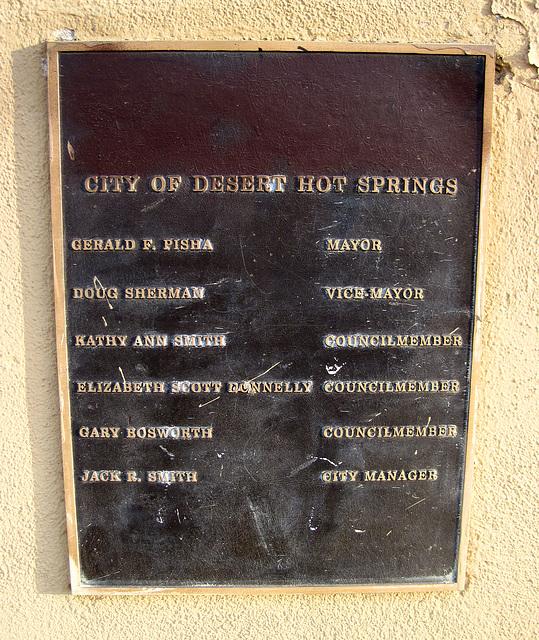 Mission Springs Park Plaque (0009)