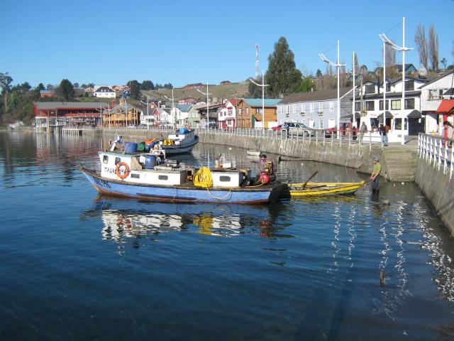 Puerto de Chonchi, Isla de Chiloe