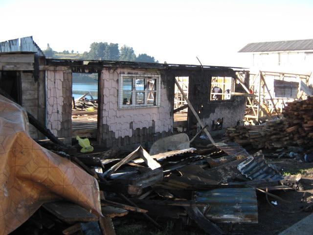 Despues del fuego, Chonchi, Isla de Chiloe