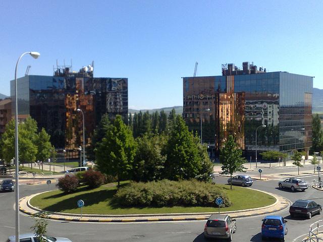 Pamplona: plaza Tomás Caballero.