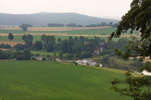 die Weser bei Ohr