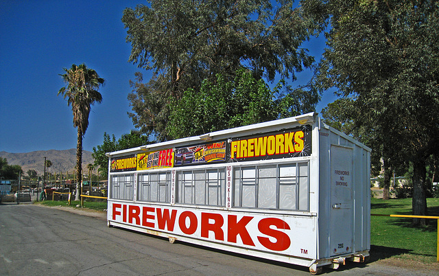 Fireworks Stand - Little League (2877)