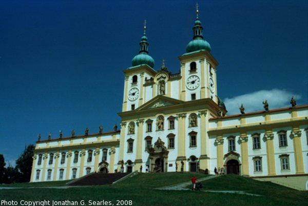 Bazilika Minor na sv. kopecku, Samotisky, Olomouc, Olomoucky Kraj, Moravia (CZ), 2008