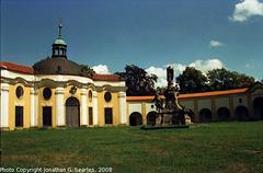 Bazilika Courtyard, Picture 6, Samotisky, Olomouc, Olomoucky Kraj, Moravia (CZ), 2008