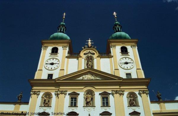Bazilika Minor na sv. Kopecku, Picture 3, Samotisky, Olomouc, Olomoucky Kraj, Moravia (CZ), 2008