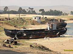 Fischereihafen Khuzir auf Olchon