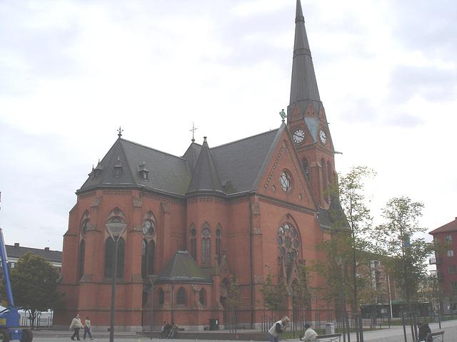 Église à saveur Viking - Originale légèrement éclaircie