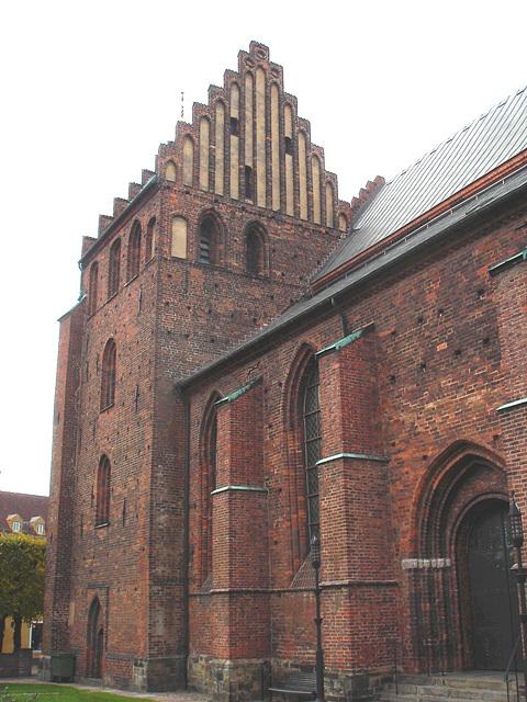 Église de Helsingborg, Suède . 22 octobre 2008 - Originale éclaircie