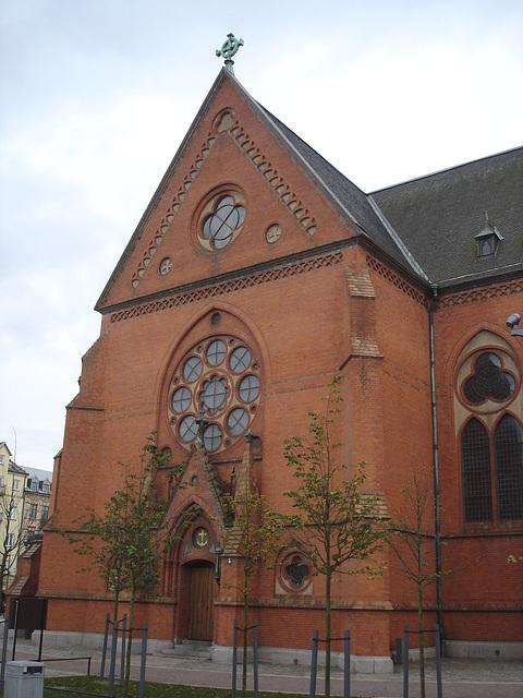 Église de Helsingborg, Suède . 22 octobre 2008-  Originale