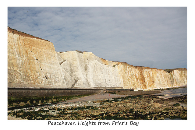 Peacehaven Heights from Friars Bay - 18.9.2014