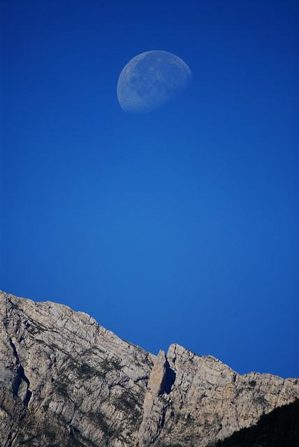 Moon over Vercors