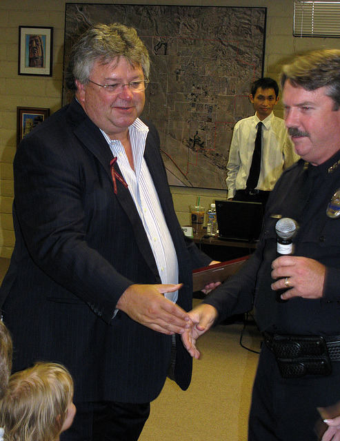 City Manager Rick Daniels & Chief Williams (0264)
