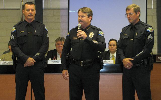 Ken Peary, Chief Pat Williams & Dan Bressler (0254