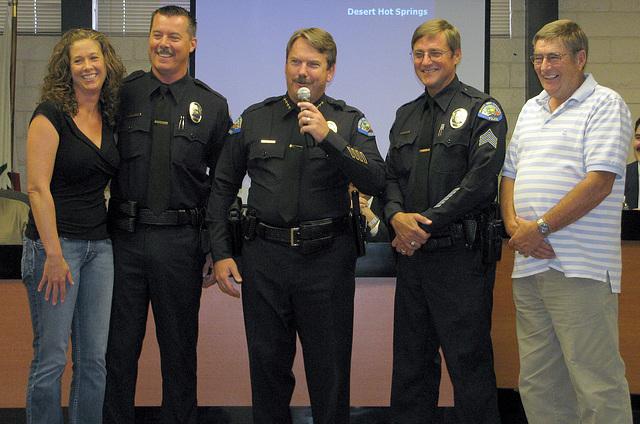 Ken Peary, Chief Pat Williams & Dan Bressler (0261)