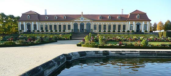 Barockgarten Großsedlitz bei Dresden