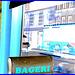 Bageri store window reflection  -  Copenhagen  /  October 20th 2008- Negative effect.
