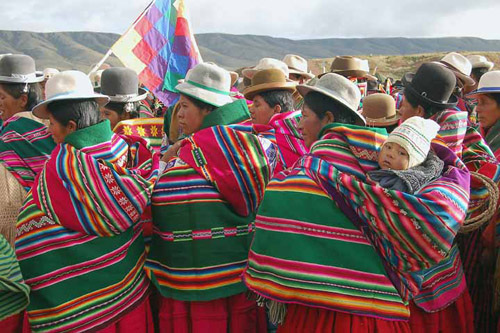 Fiesta Aymara : Sikuriadas