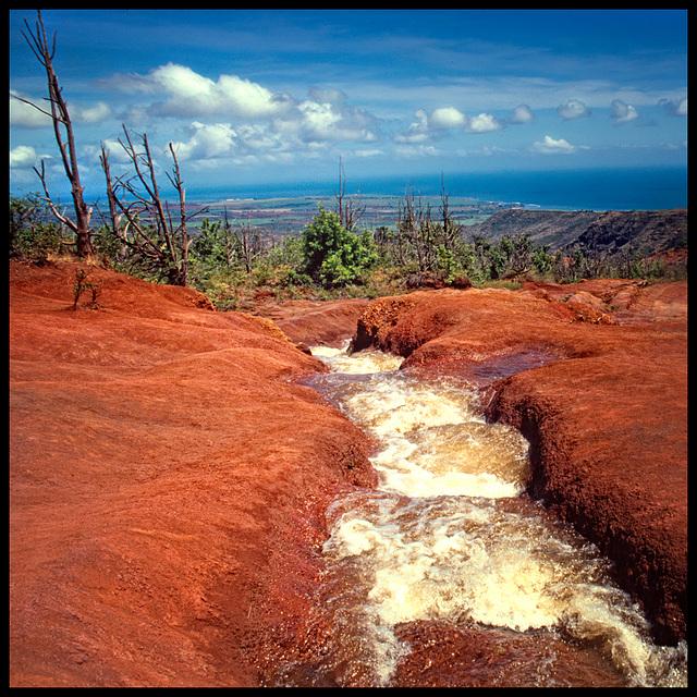 red stream......