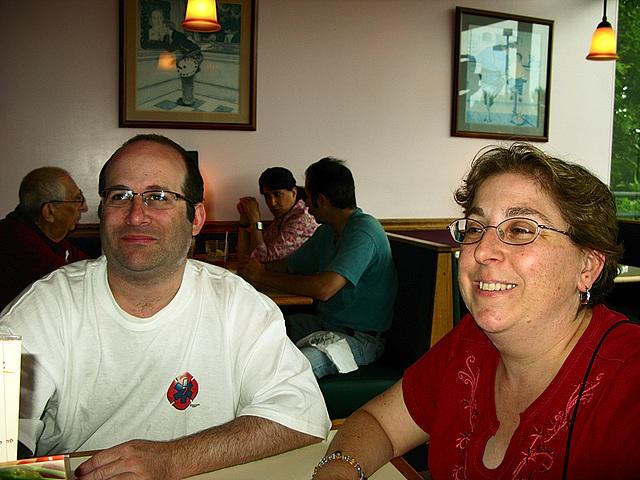 Jon and Margo