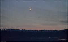 lune au coucher
