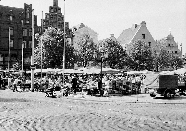 Lüneburger  Markt 1985