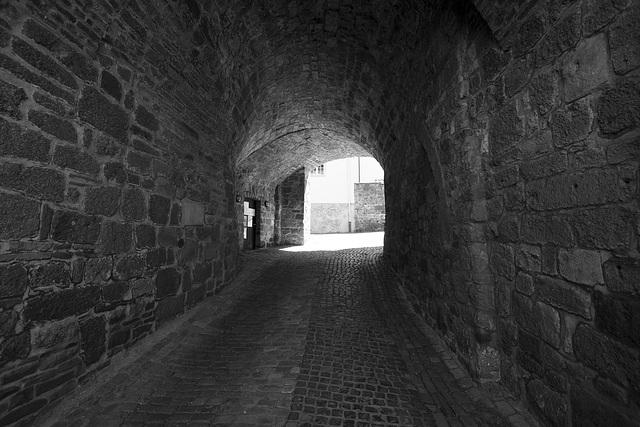 Abtei Michaelsberg   Tor