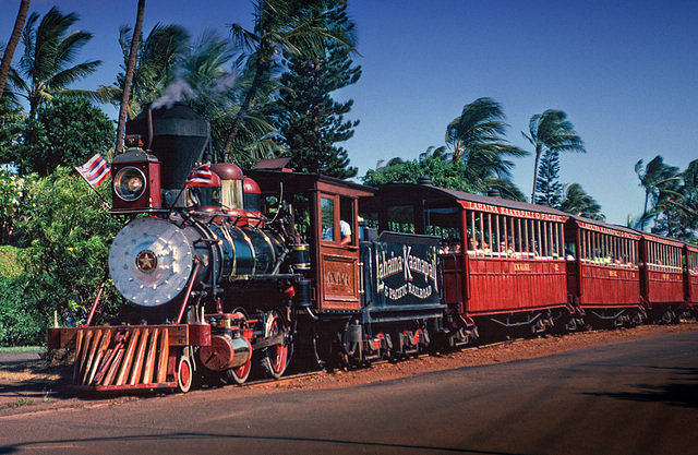 The Lahaina, Kaanapali & Pacific Railroad