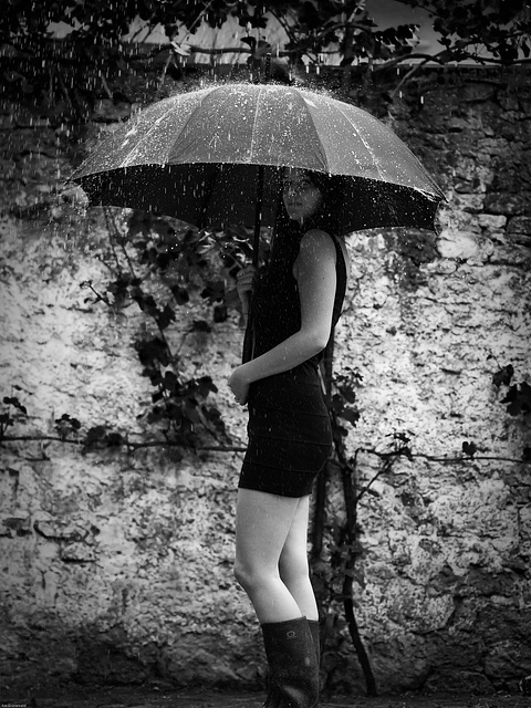 Lina unterm Schirm 2
