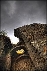 Byzantine city wall