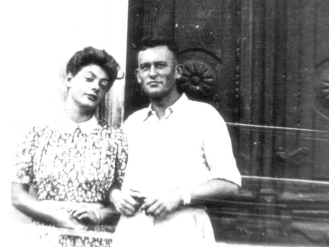 Meine Eltern-verlobt 1943