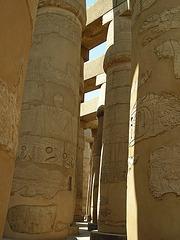 Säulenhalle - Karnak