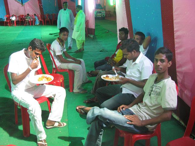 Rato india a un mariage