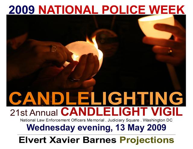 CandleLighting.21CandleVigil.NLEOM.13May2009