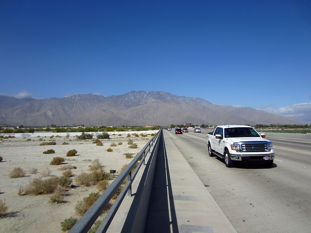 Mt San Jacinto from the Ramon Bridge (2132)