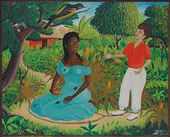 Choucoune, œuvre de Jacques-Richard Chéry, Haïti