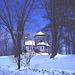 Tour St-Benoit - En face de l'abbaye /  6-02-2009- Effet de nuit