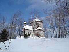 Tour St-Benoit - En face de l'abbaye /  6-02-2009