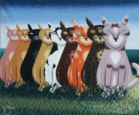 La Compagnie des Chats, par Jean-Claude Paul