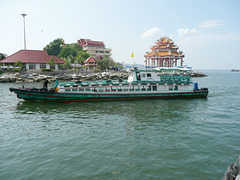 Ferry across the water